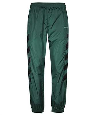 Off-White OMCA086E20FAB002 DIAG NYLON Trousers