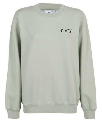 Off-White OWBA055F21JER007 OW LOGO REG CREWNECK Sweatshirt