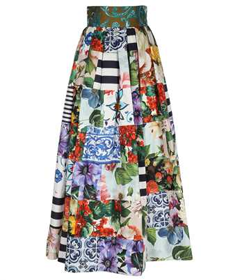 Dolce & Gabbana F4B3YT GDY03 LONG PATCHWORK Rock