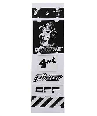 Off-White OMZG034E20MAT003 KISS 21 Sticker set