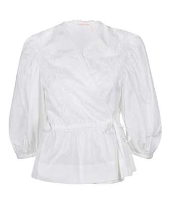 See By Chloè CHS21SHT05020 WRAPPED Shirt
