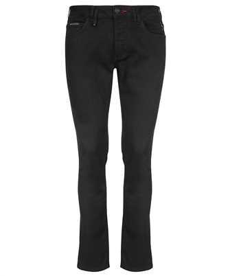Philipp Plein FAAC MDT2551 PDE004N DENIM SUPER STRAIGHT CUT Jeans