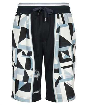Dolce & Gabbana GW57AT FI7XF MAJOLICA PRINT JOGGING Shorts