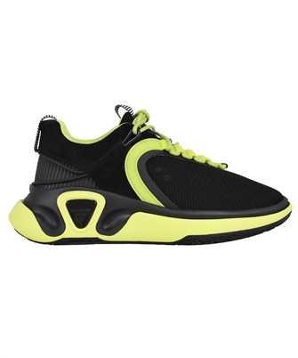 Balmain VM0VI261TSDY B RUNNER-SUEDE & MESH Sneakers