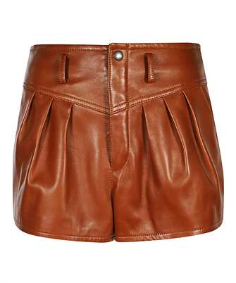 Saint Laurent 630199 Y5OA2 LAMBSKIN PLEATED Shorts