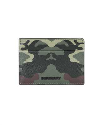 Burberry 8042300 CAMOUFLAGE PRINT LEATHER Card holder