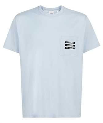 Burberry 8043974 STATUE PRINT COTTON OVERSIZED T-shirt