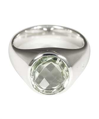 Tom Wood R75SOGQZ01 LIZZIE GREEN QUARTZ Ring