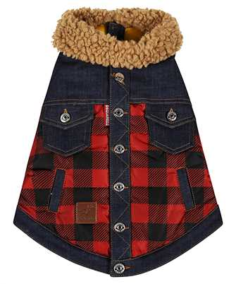 Dsquared2 VEP0001 16803639 D2 x POLDO CHECK COLLARED Gilet