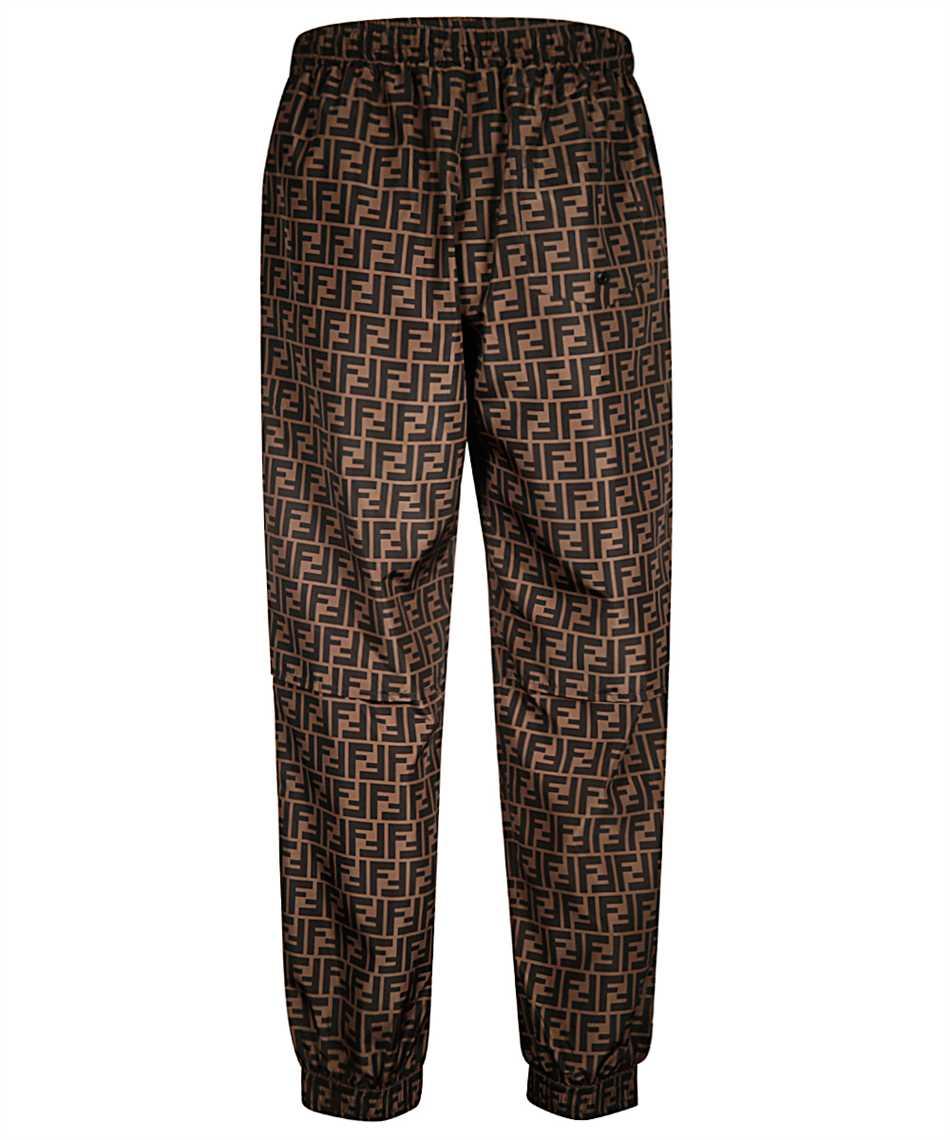 Fendi FAB527 A797 FF NYLON Trousers 2