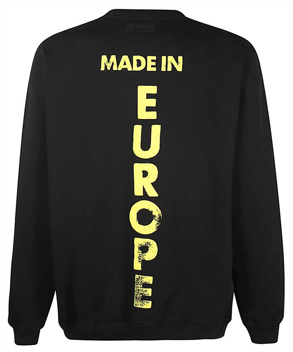 Vetements UE51TR670B MADE IN EUROPE Mikina 2