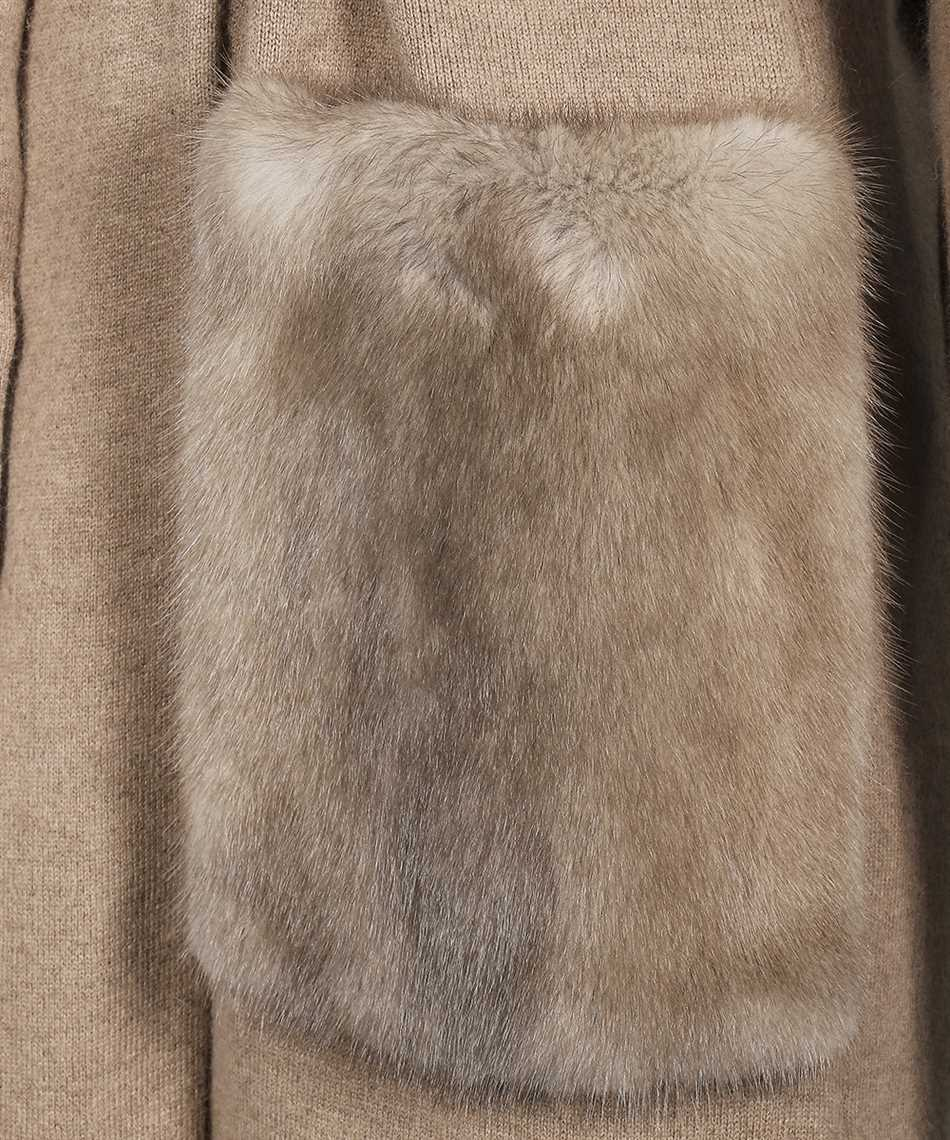 Yves Salomon 21WYM51113MCMA MINK FUR Coat 3