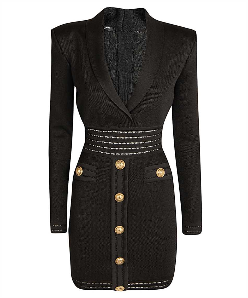 Balmain UF16338K119 KNIT Dress 1
