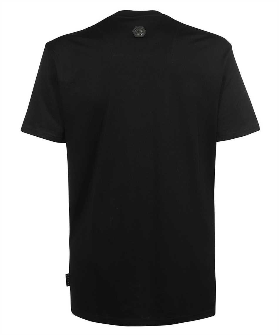 Philipp Plein PAAC MTK5085 ROUND NECK SS CLOUDS T-shirt 2
