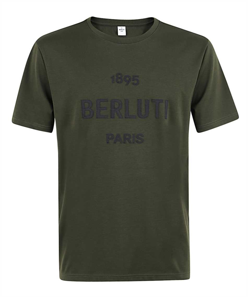 BERLUTI R18JRS50 001 LOGO T-shirt 1