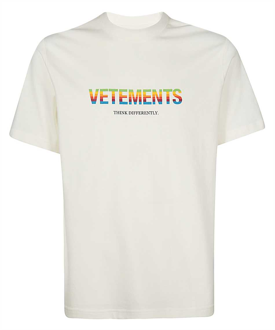 Vetements UE51TR620W THINK DIFFERENTLY Tričko 1