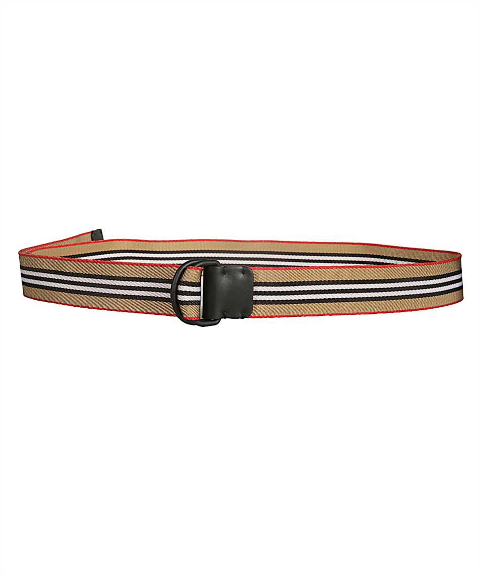 Burberry 8010425 ICON STRIPE DOUBLE D-RING Belt 1