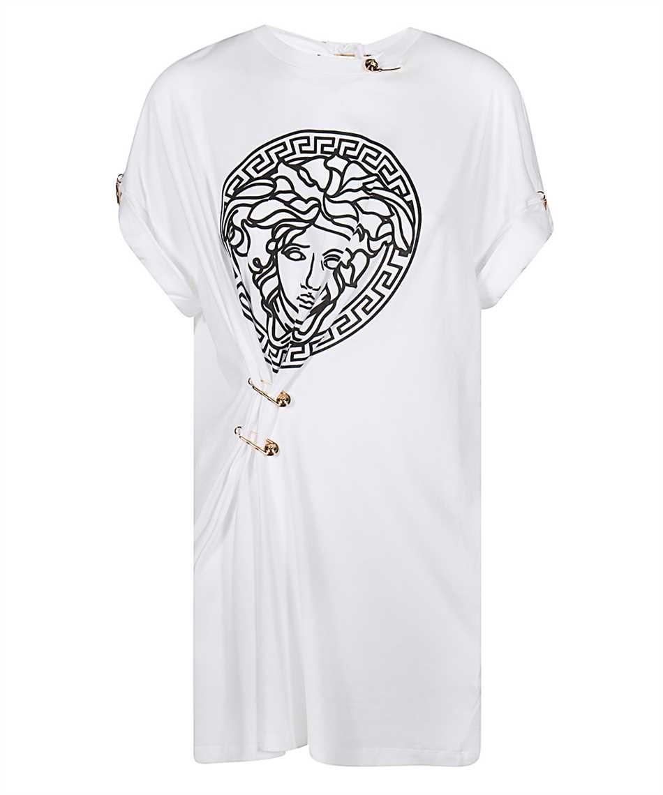Versace A87453 A228806 MEDUSA SAFETY PIN T-Shirt 1