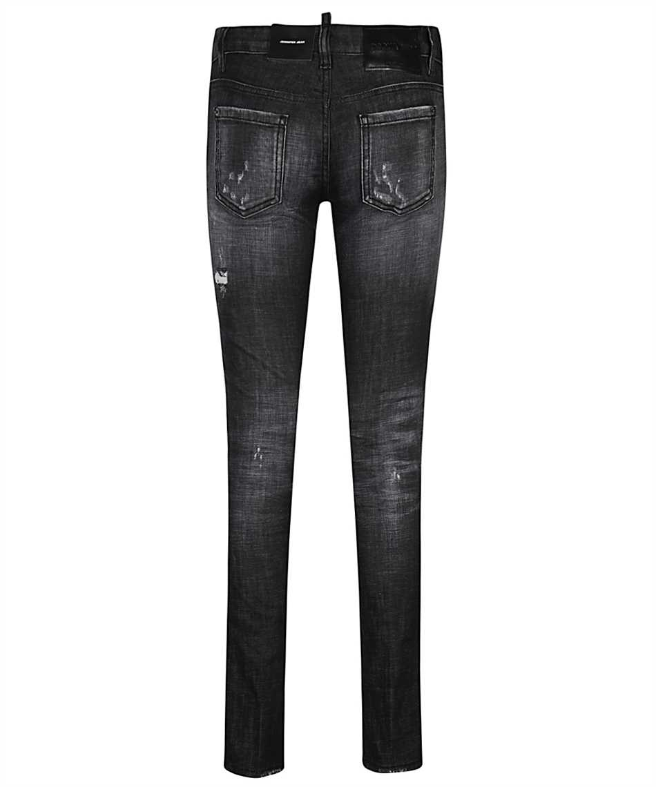 Dsquared2 S75LB0432 S30357 BLACK 2 WASH JENNIFER Džínsy 2