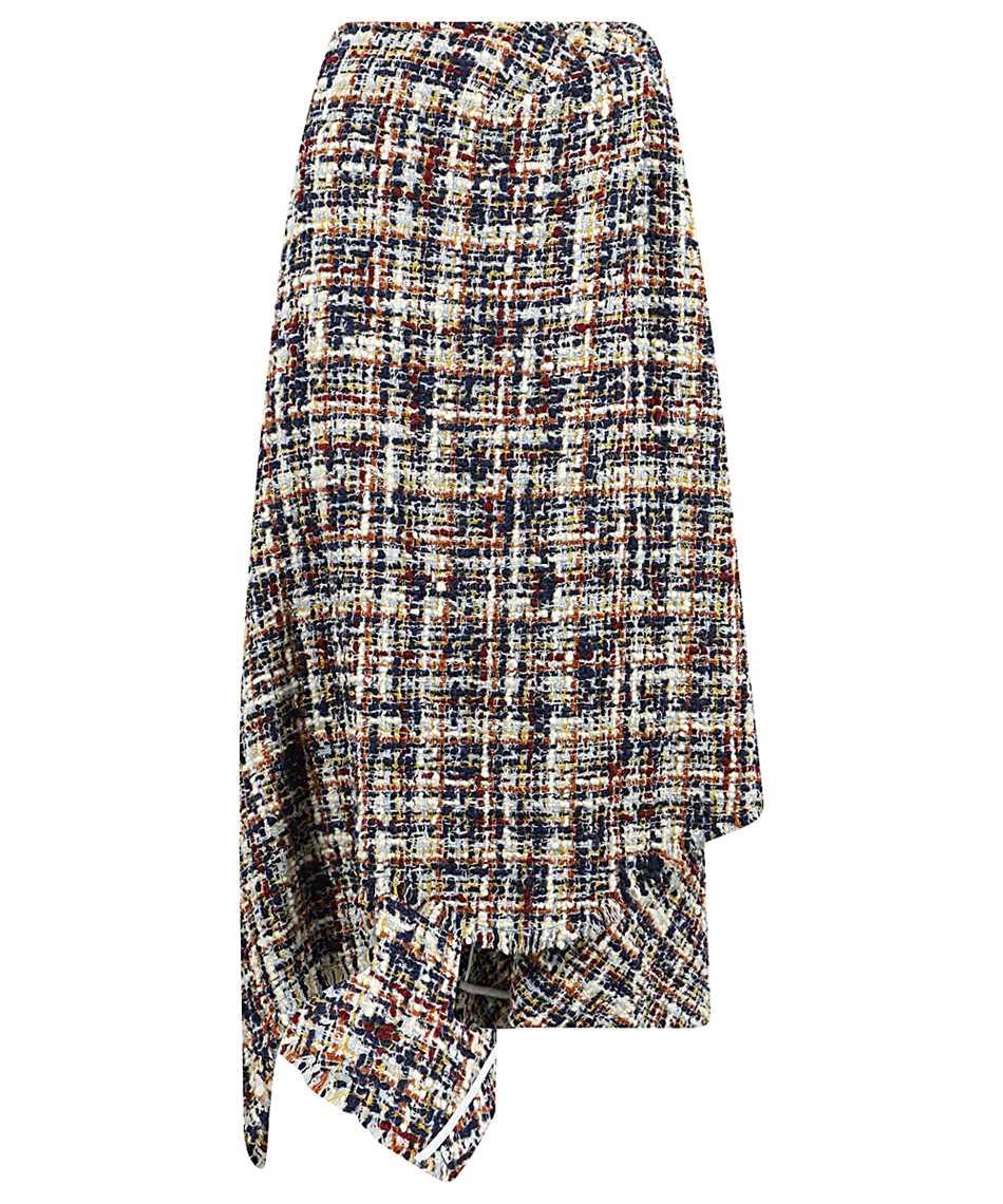 Lanvin RW ST424U 4602 A20 ASYMMETRIC WRAP Skirt 1