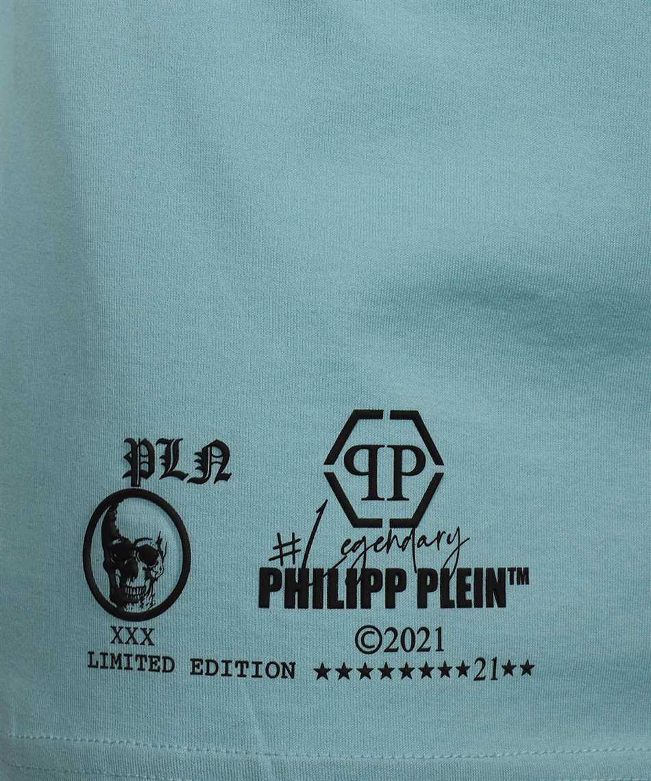 Philipp Plein PAAC UTK0018 ROUND NECK SS OUTLINE SKULL CRYSTAL T-shirt 3