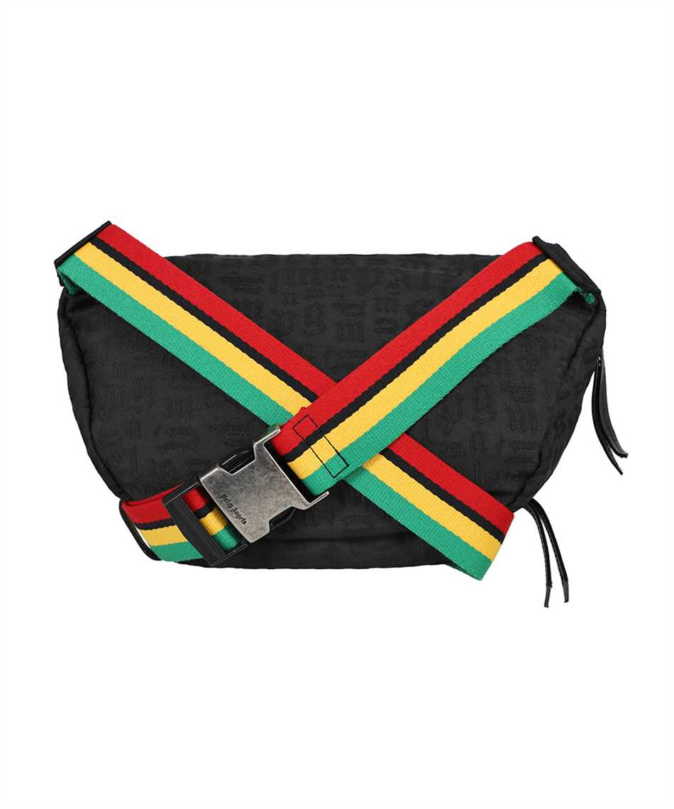 Palm Angels PMNO003S21FAB001 MONOGRAM Belt bag 2