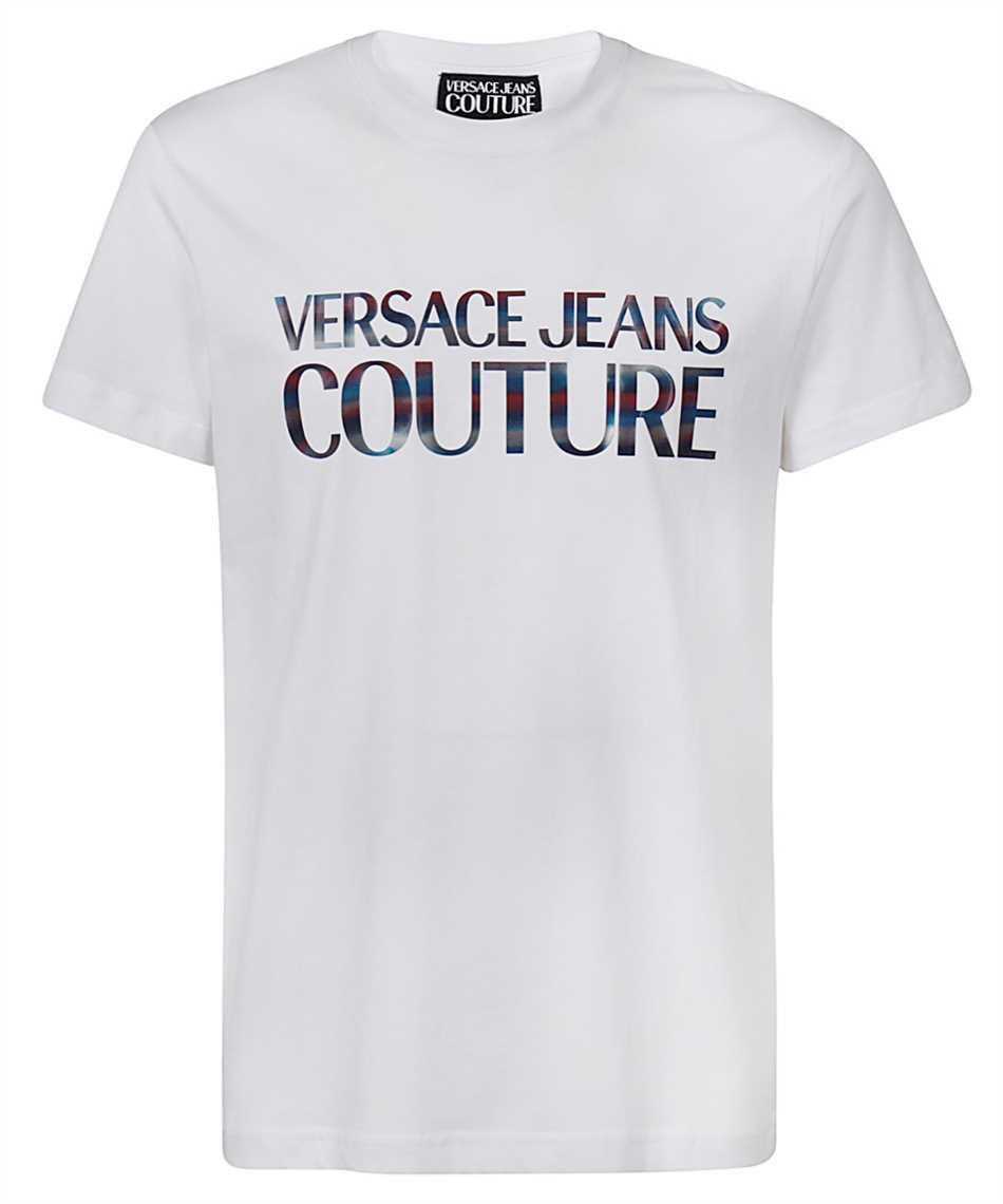 Versace Jeans Couture B3GWA7GB 30382 SLIM LOGO REFLECTIVE Tričko 1