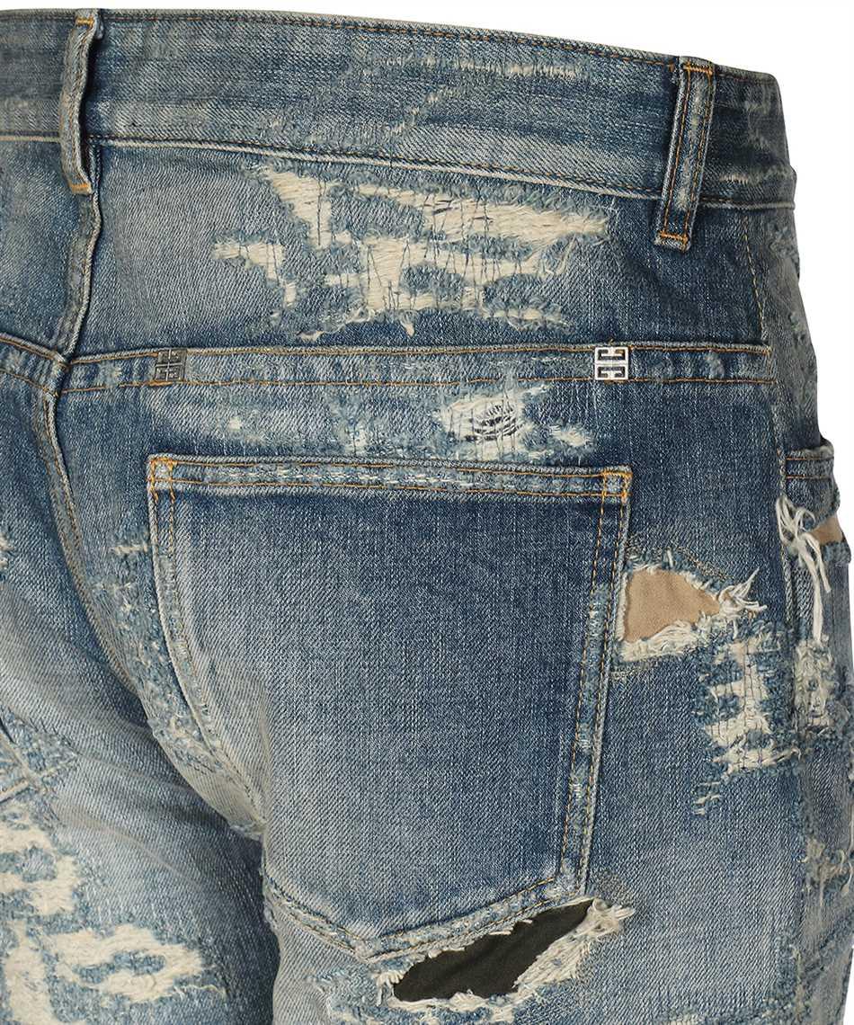 Givenchy BM50VH5Y1B VINTAGE DISTRESS MOLESKIN Jeans 3