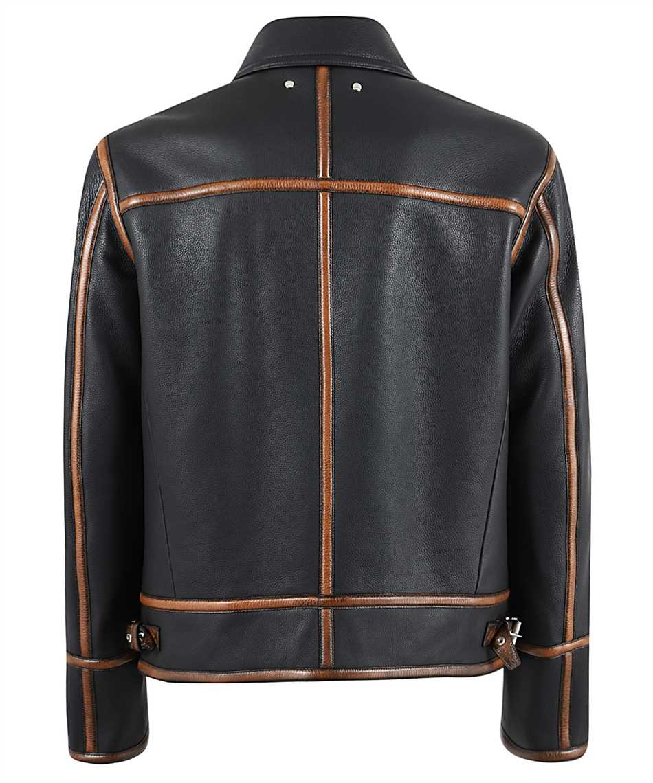BERLUTI R18LBL89 001 PATINA DETAILS LEATHER Jacket 2