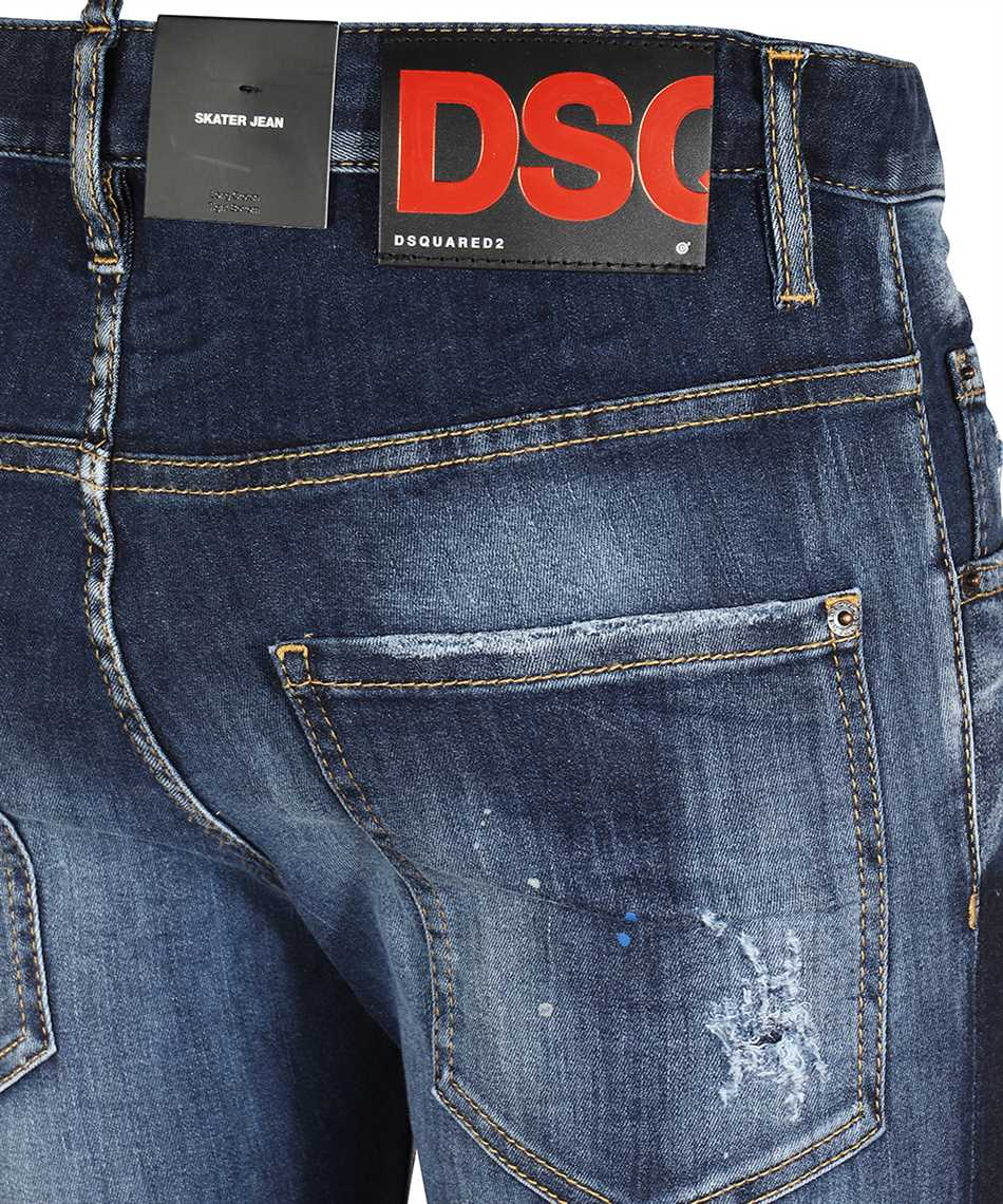 Dsquared2 S71LB0838 S30708 SKATER Džínsy 3
