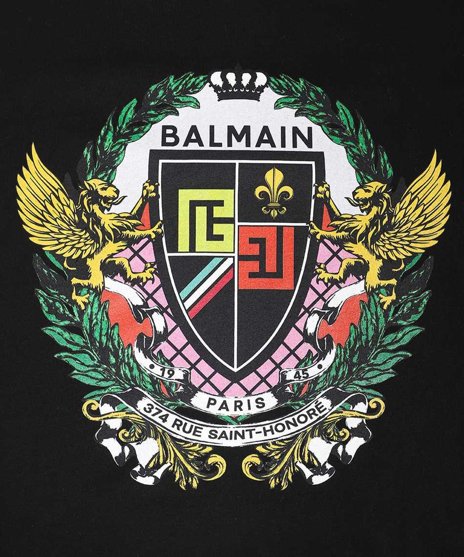 Balmain VH0EF000G055 CLASSIC FIT PRINTED T-shirt 3