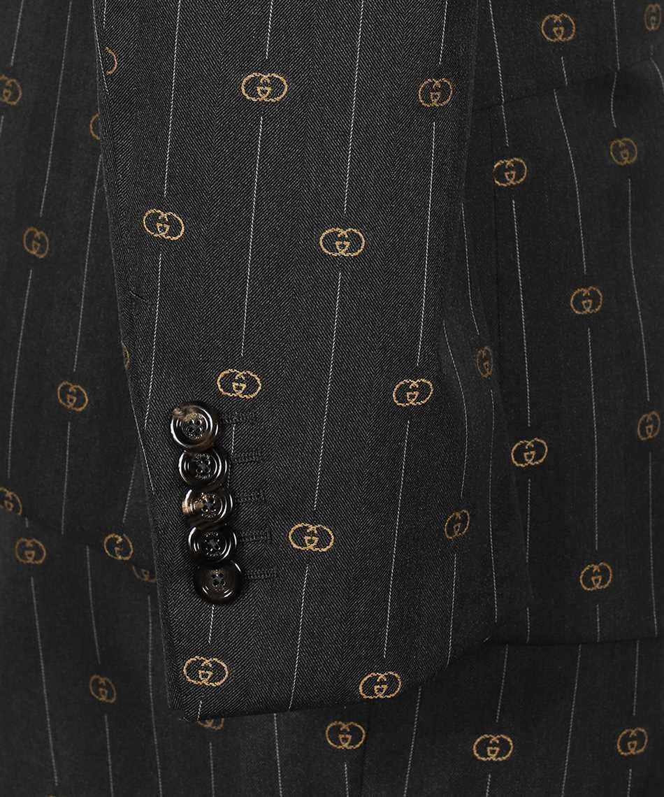 Gucci 630155 ZAD99 HERITAGE INTERLOCKING G STRIPE Oblek 3