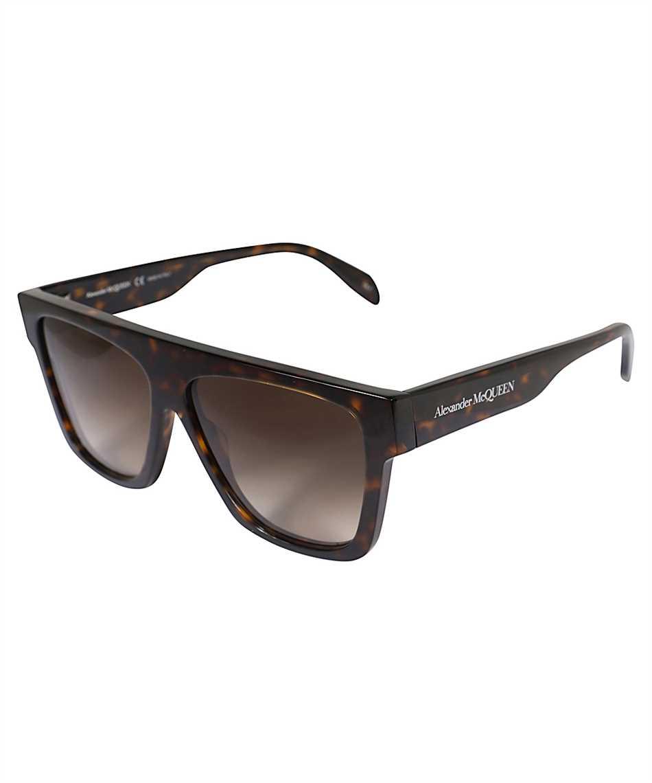 Alexander McQueen 649836 J0740 SELVEDGE FLAT TOP Sunglasses 2