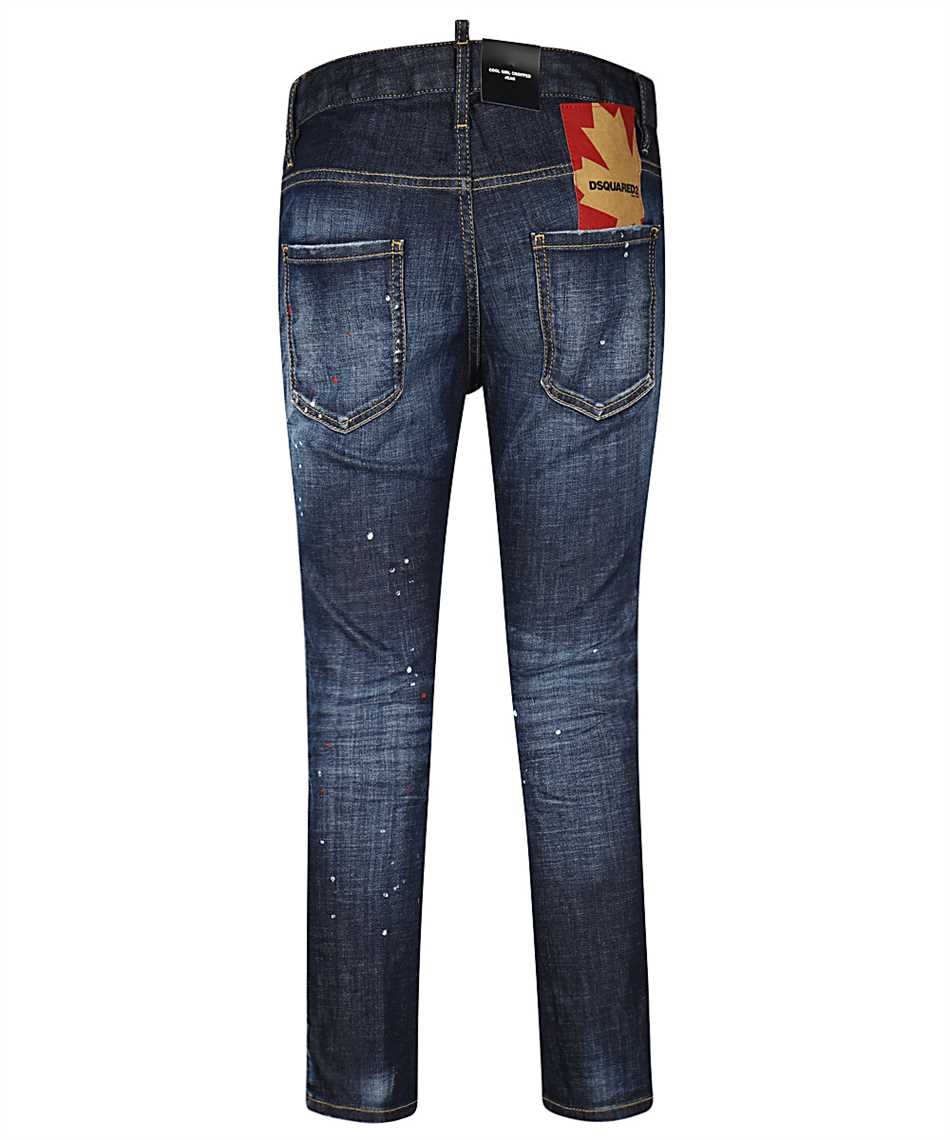 Dsquared2 S72LB0354 S30342 COOL GIRL CROPPED Jeans 2