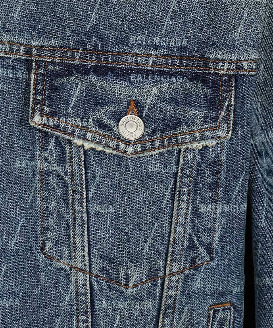 Balenciaga 620731 TJW53 LARGE FIT Jacket 3