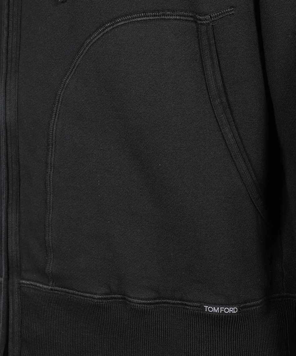 Tom Ford BV265 TFJ986 FULL ZIP Hoodie 3