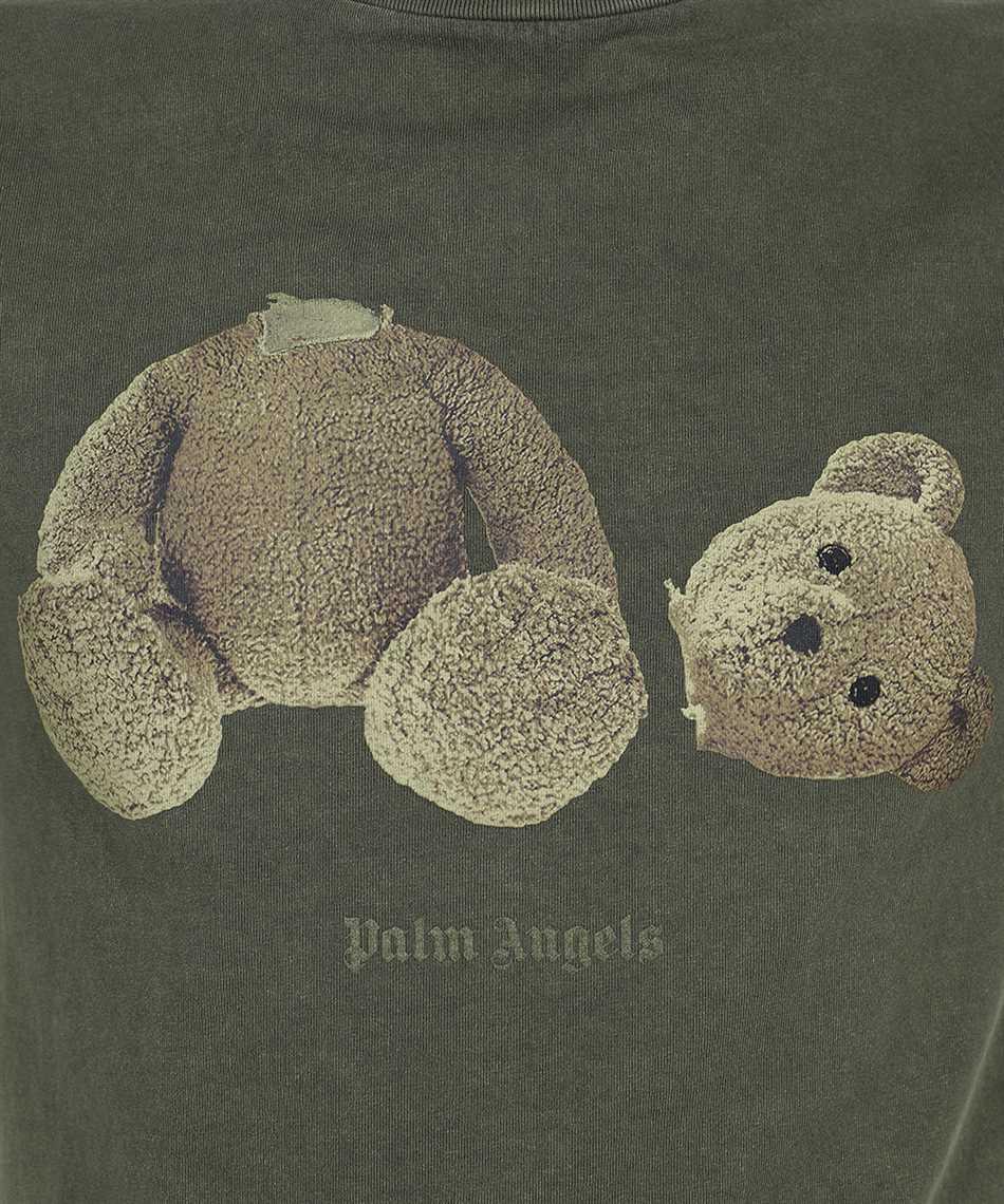 Palm Angels PMAA001S21JER016 BEAR CLASSIC T-shirt 3