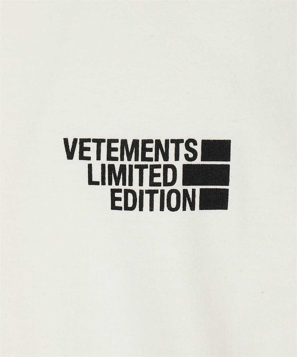Vetements UE51TR720W LOGO LIMITED EDITION Tričko 3