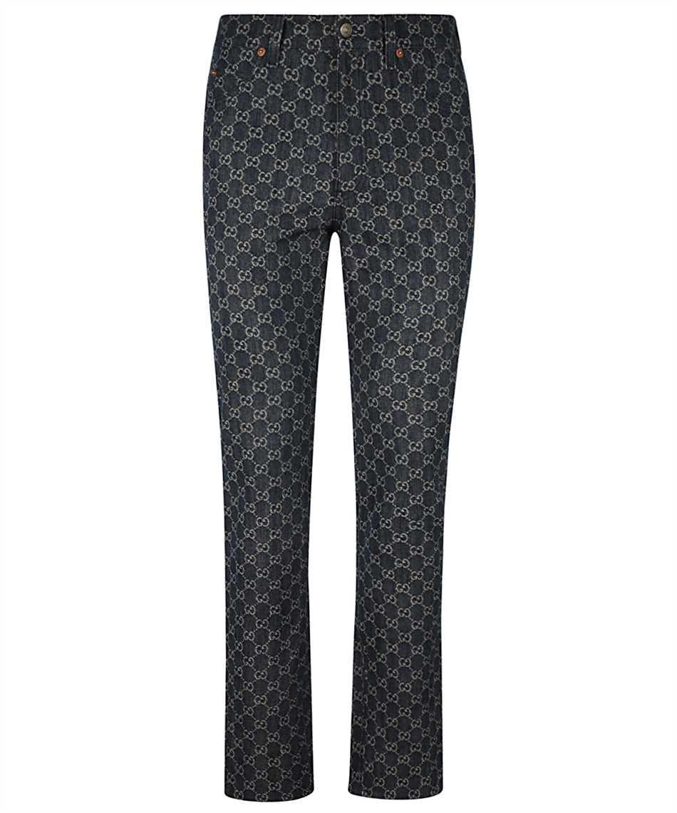 Gucci 649092 XDBK1 GG DENIM Jeans 1