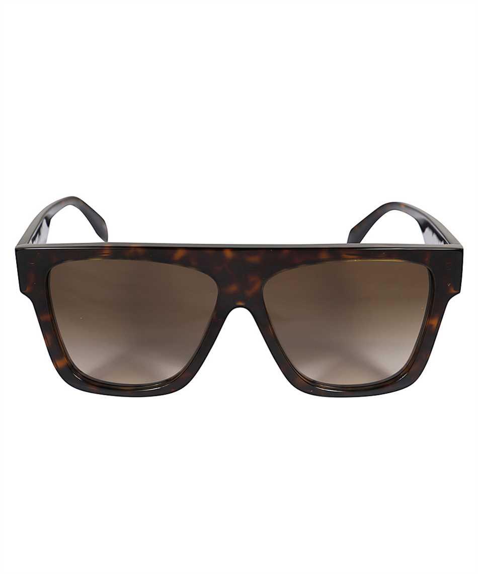Alexander McQueen 649836 J0740 SELVEDGE FLAT TOP Sunglasses 1