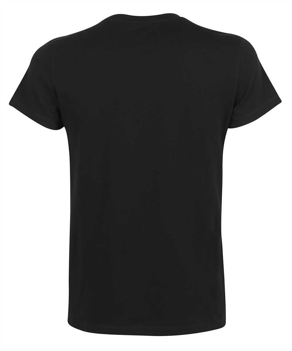 Balmain VH0EF000G055 CLASSIC FIT PRINTED T-shirt 2