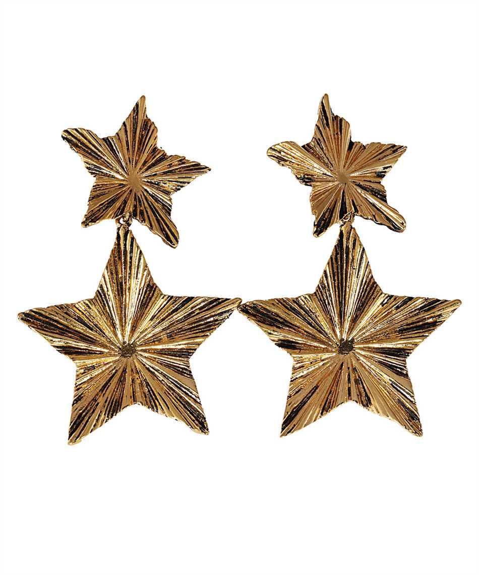 Saint Laurent 633473 Y1500 2 STARS Earrings 1