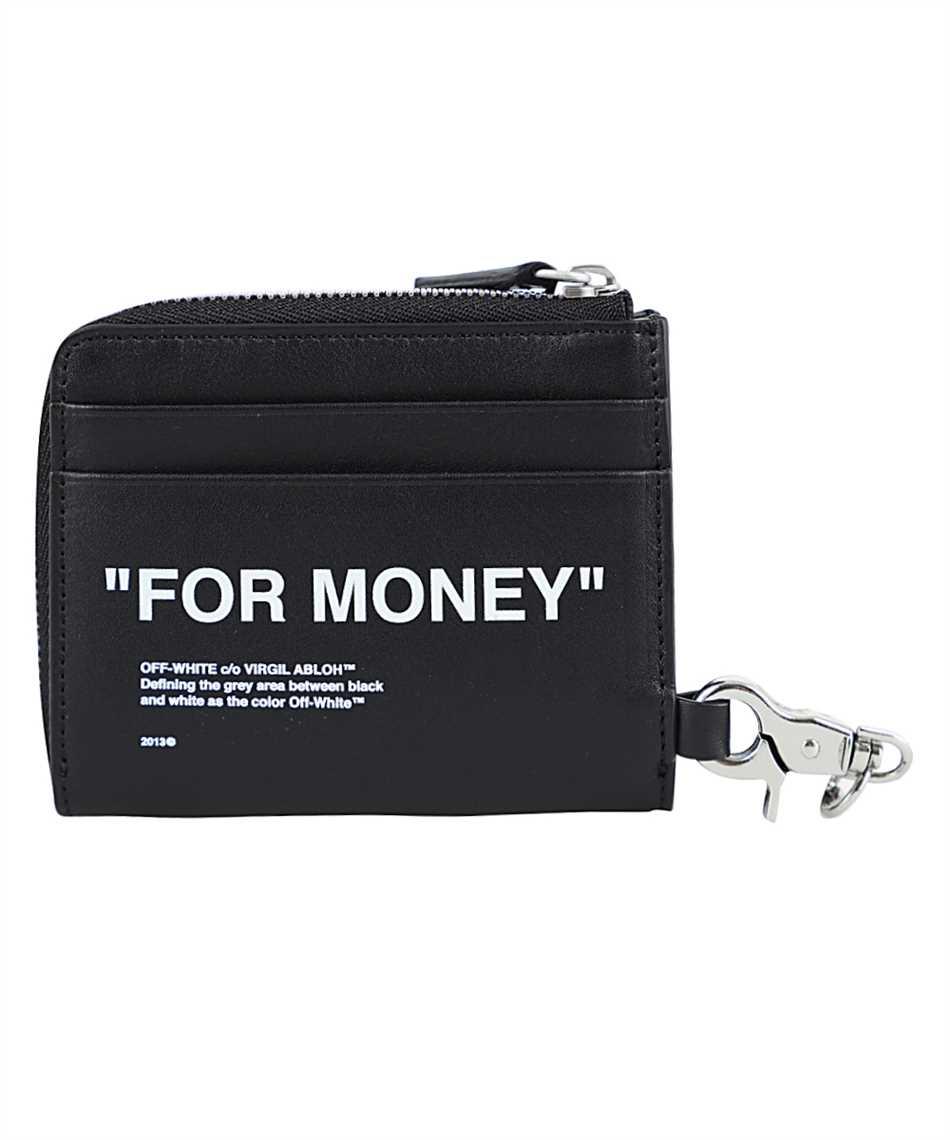 Off-White OMNC021F20LEA001 CHAIN Wallet 2