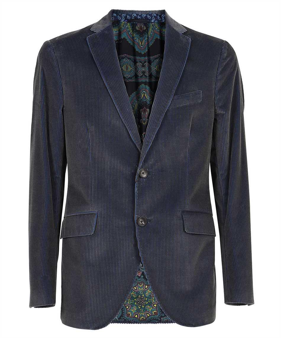 Etro 11807 0079 RIBBED VELVET Jacket 1