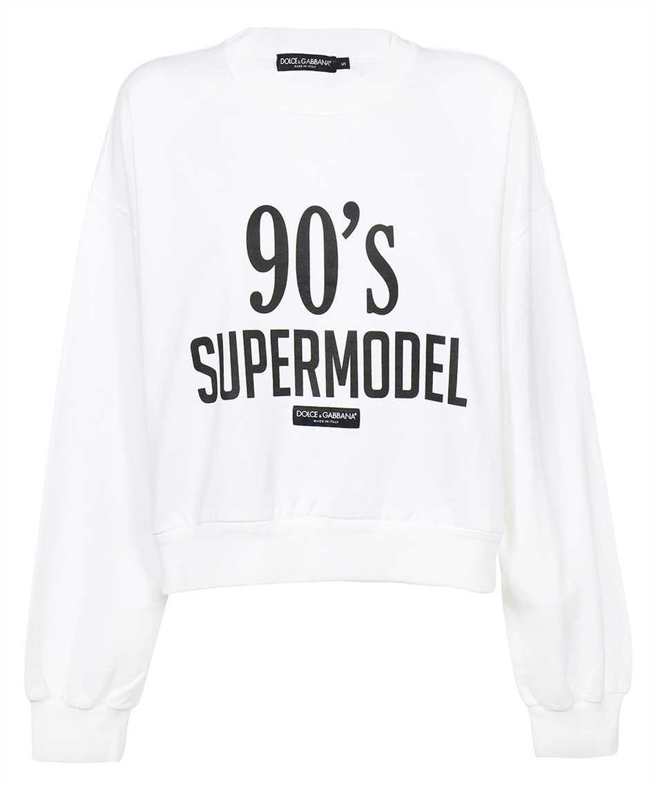 Dolce & Gabbana F9L05T FU7DU 90'S SUPERMODEL Sweatshirt 1