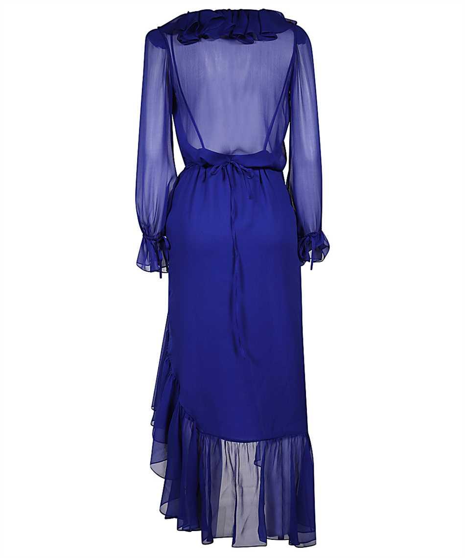 Saint Laurent 633941 Y115W RUFFLED WRAP Kleid 2