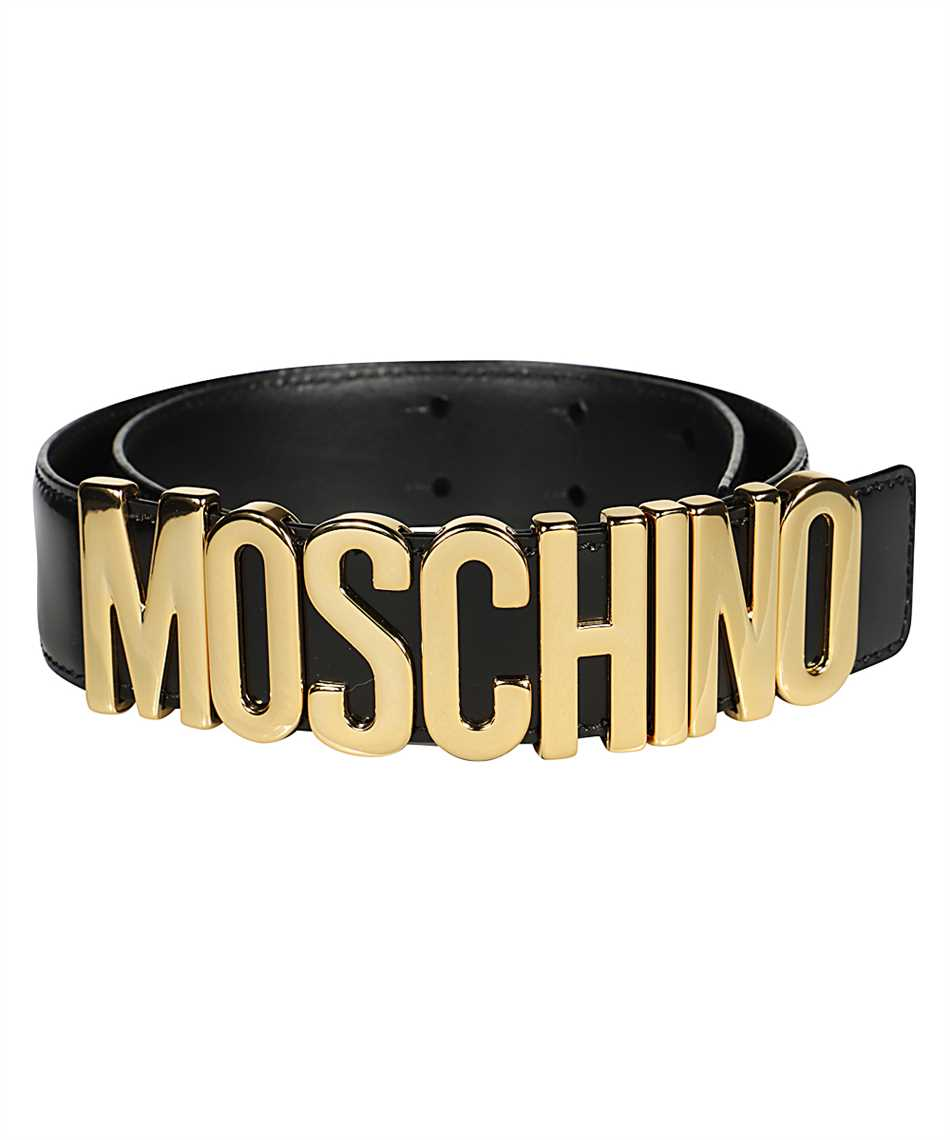 Moschino A8012 8007 LETTERING LOGO Belt 2
