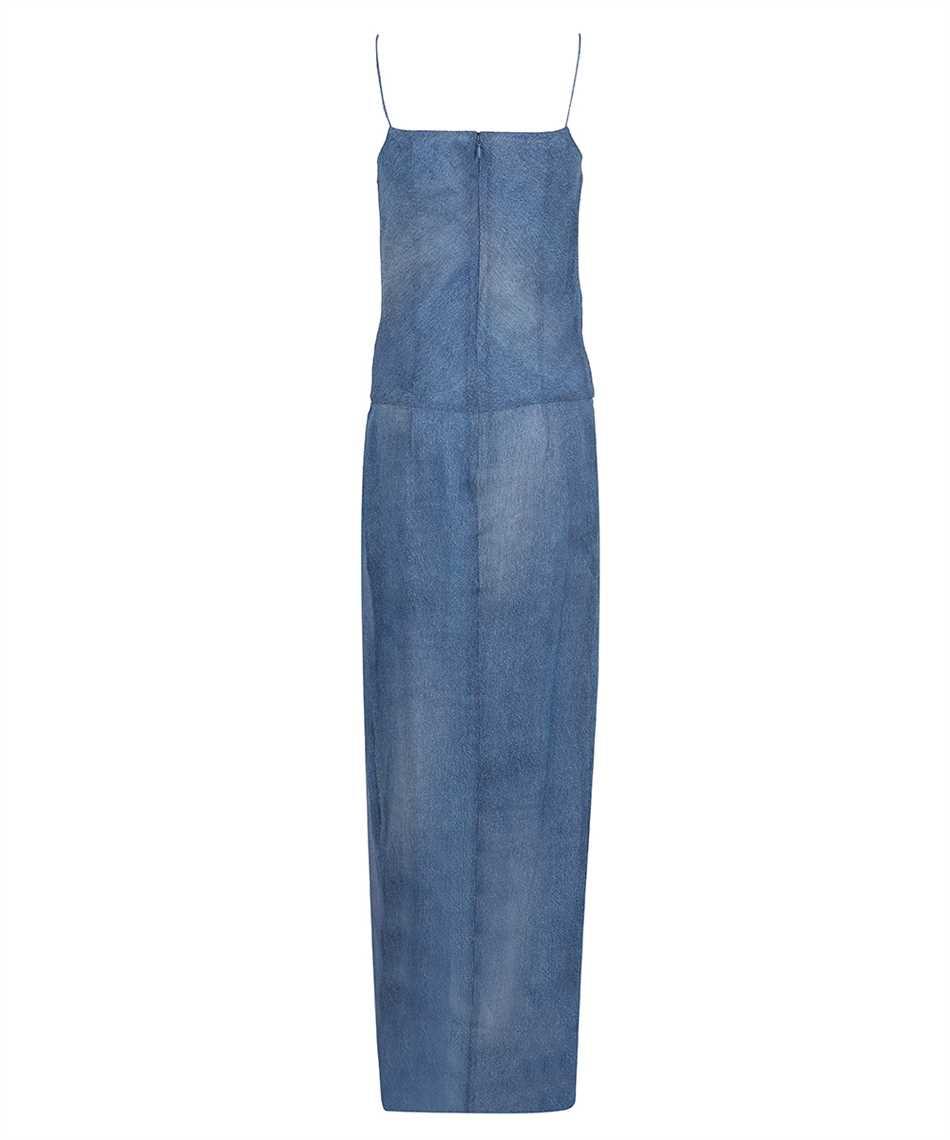 Balmain VF0RN040I667 LONG DENIM Kleid 2