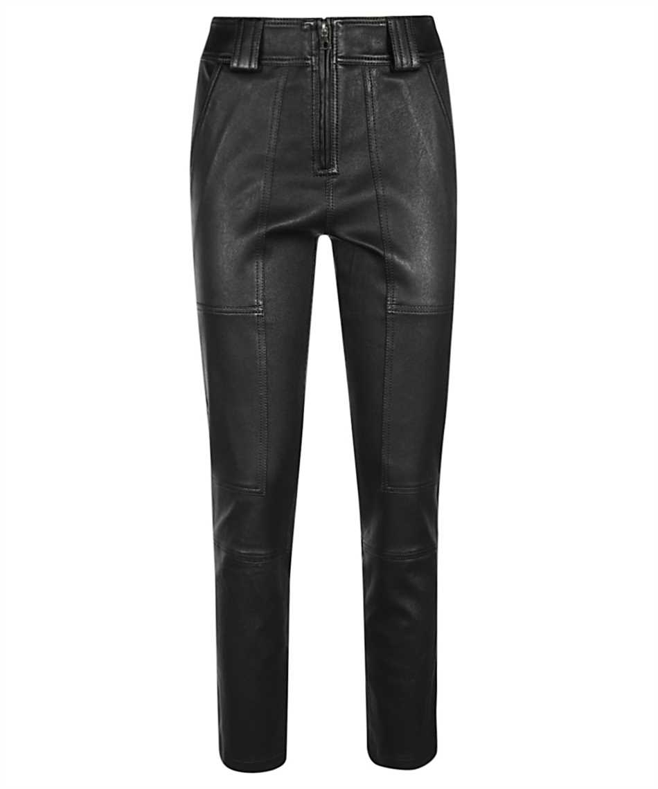 Yves Salomon 20EYP221XXAPSX STRETCH LAMB LEATHER Trousers 1