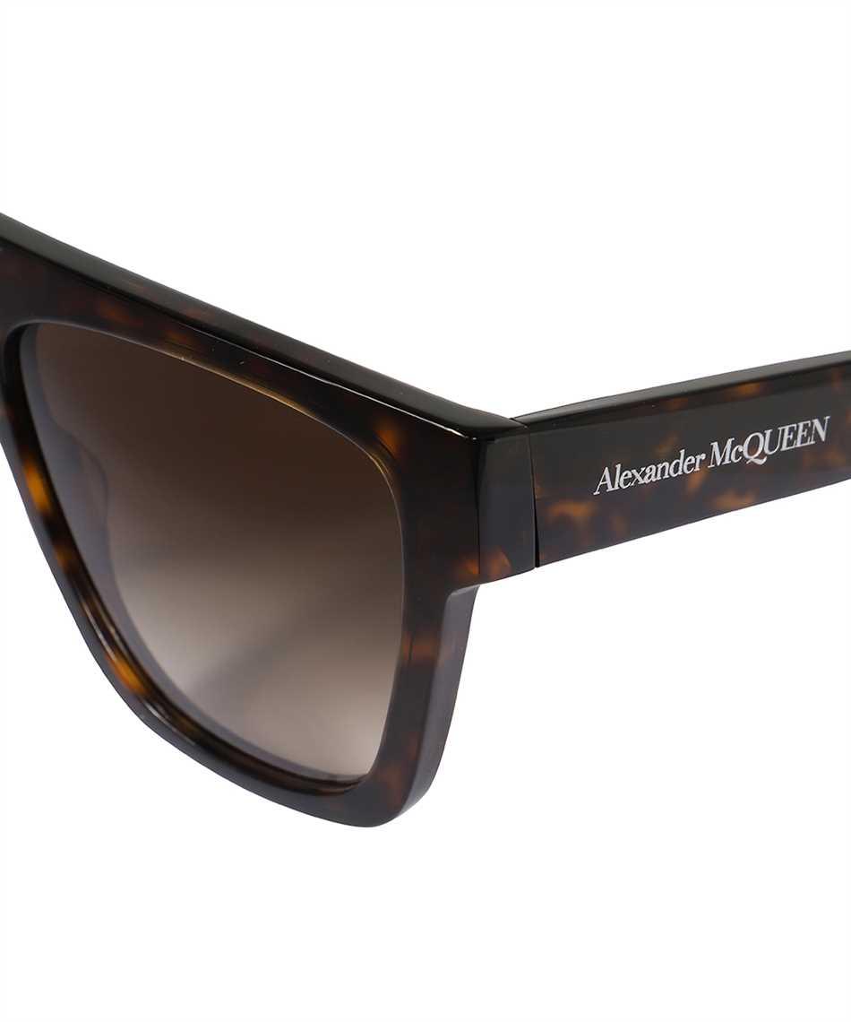 Alexander McQueen 649836 J0740 SELVEDGE FLAT TOP Sunglasses 3